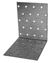 Крепежный уголок равносторонний KUR 100x100x60