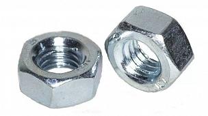 Гайка DIN 934 шестигранная, цинк, М22