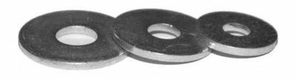 Шайба DIN 9021 усиленная, цинк, М4