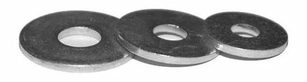 Шайба DIN 9021 усиленная, цинк